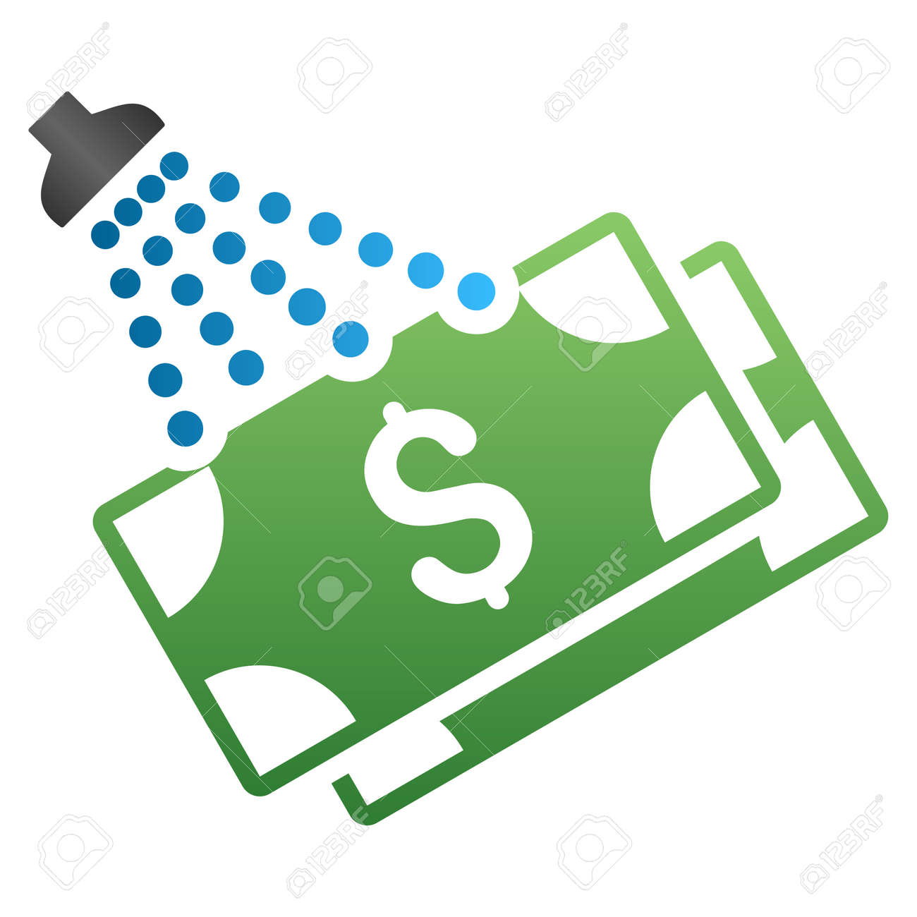 Money shower vector toolbar icon for software design style is money shower vector toolbar icon for software design style is a gradient icon symbol on buycottarizona Images