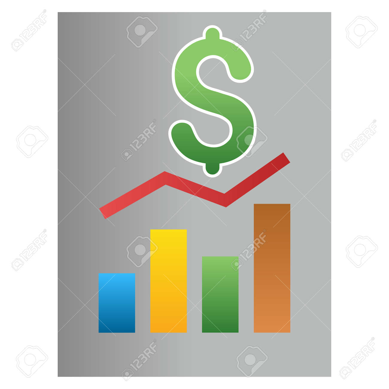 Sale bar chart report glyph toolbar icon for software design sale bar chart report glyph toolbar icon for software design style is a gradient icon ccuart Images
