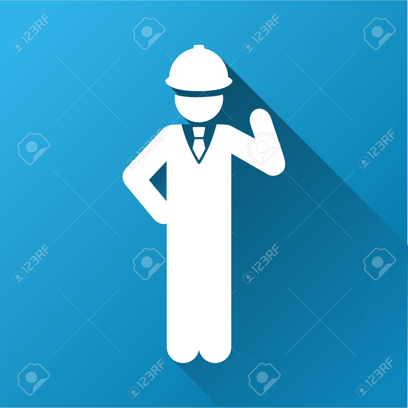 Engineer vector toolbar icon for software design style is a engineer vector toolbar icon for software design style is a white symbol on a square biocorpaavc