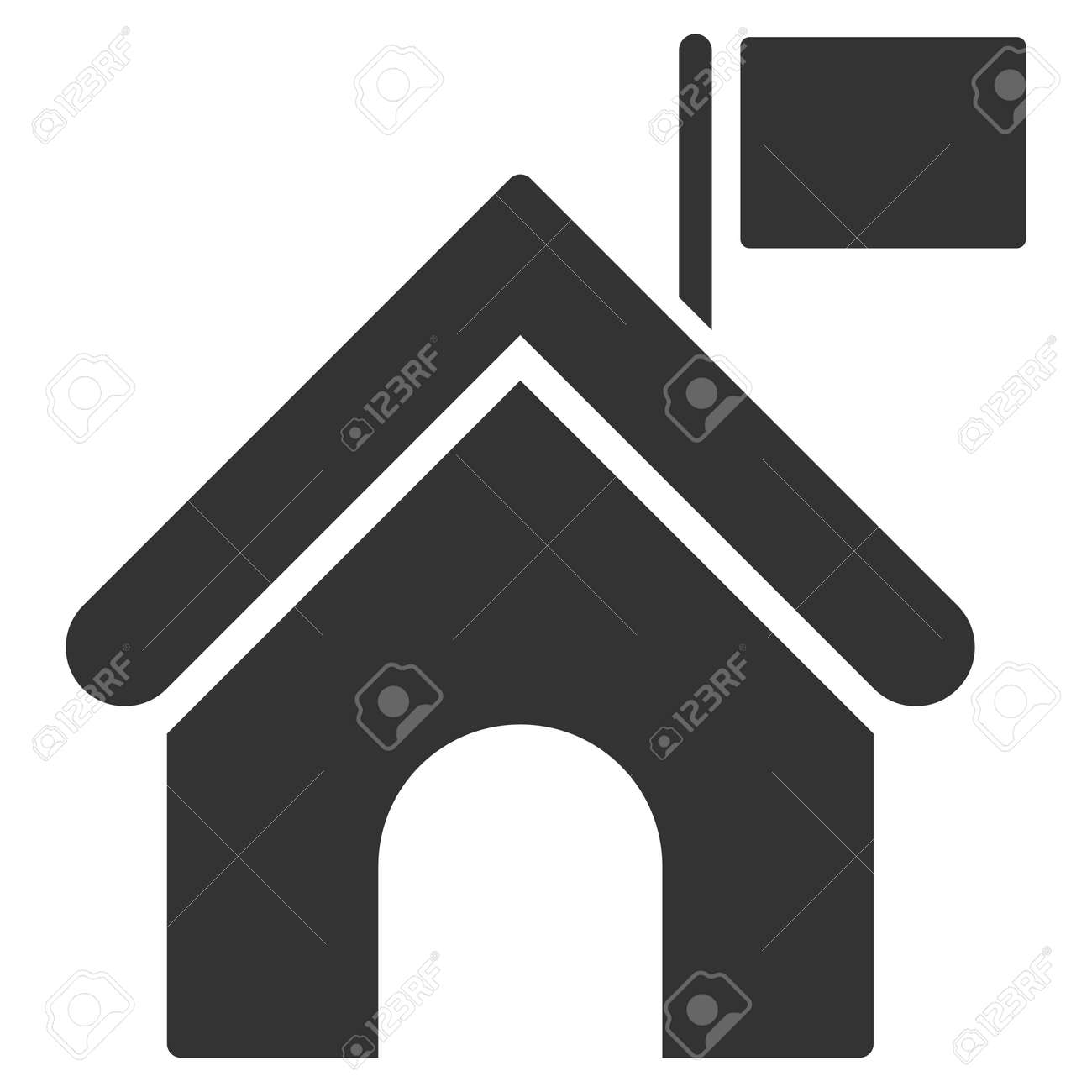 Government building icon vector style is flat iconic symbol government building icon vector style is flat iconic symbol gray color white background biocorpaavc