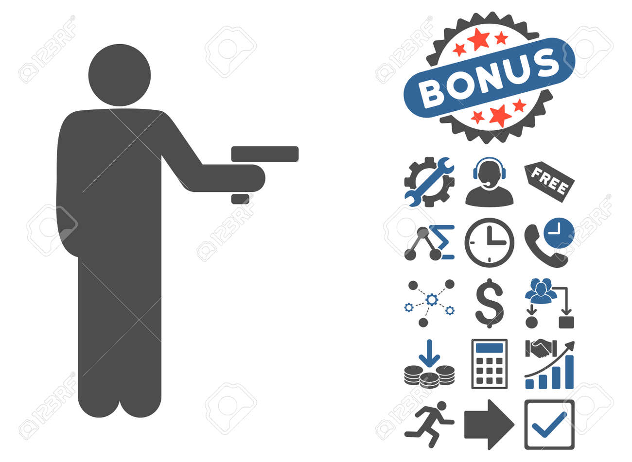 Robber with gun pictograph with bonus symbols glyph illustration robber with gun pictograph with bonus symbols glyph illustration style is flat iconic bicolor symbols biocorpaavc Images