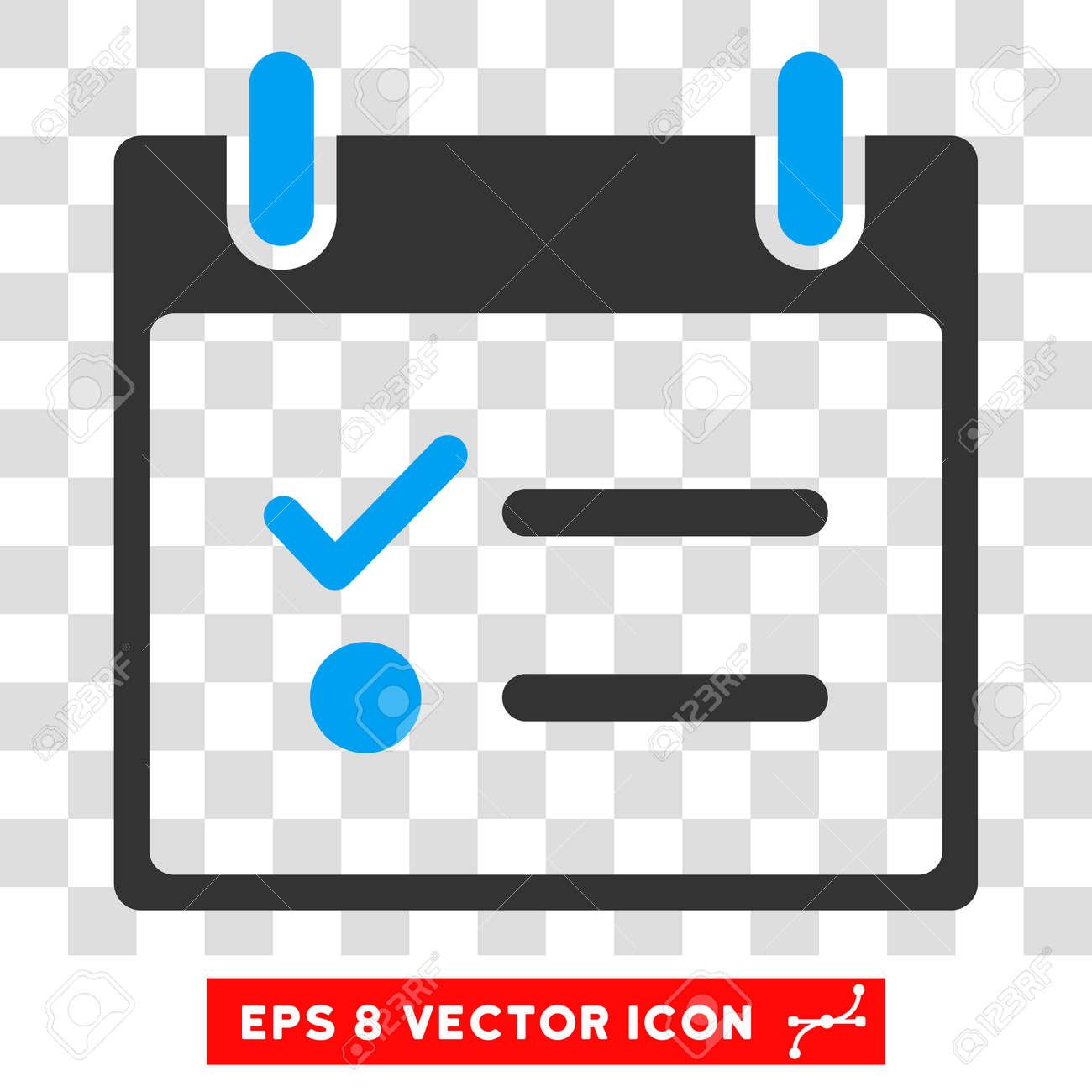 vector todo list calendar day eps vector icon. illustration style