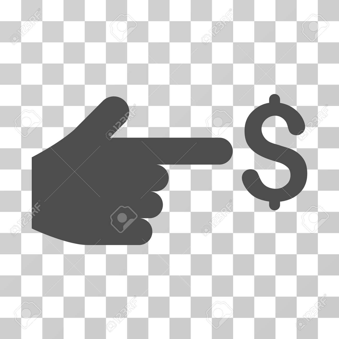Dollar Index Icon Vector Illustration Style Is Flat Iconic Symbol