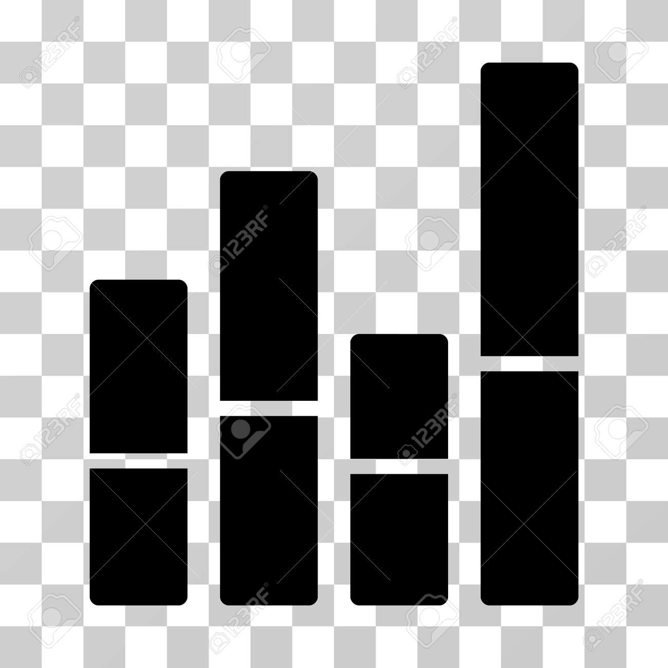 Bar chart icon vector illustration style is flat iconic symbol bar chart icon vector illustration style is flat iconic symbol black color transparent nvjuhfo Choice Image