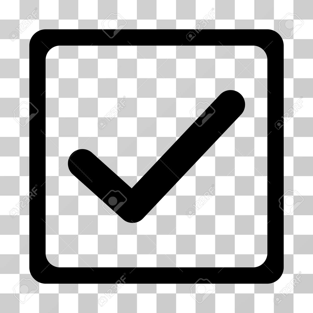 Checkbox icon vector illustration style is flat iconic symbol checkbox icon vector illustration style is flat iconic symbol black color transparent background biocorpaavc Gallery