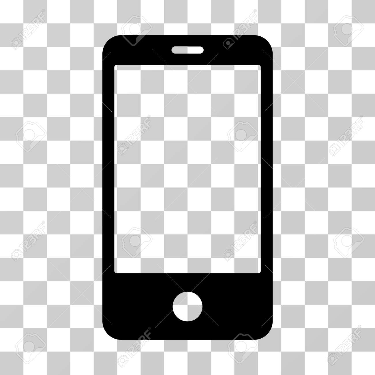 Smartphone Vector Pictograph Illustration Style Is Flat Iconic