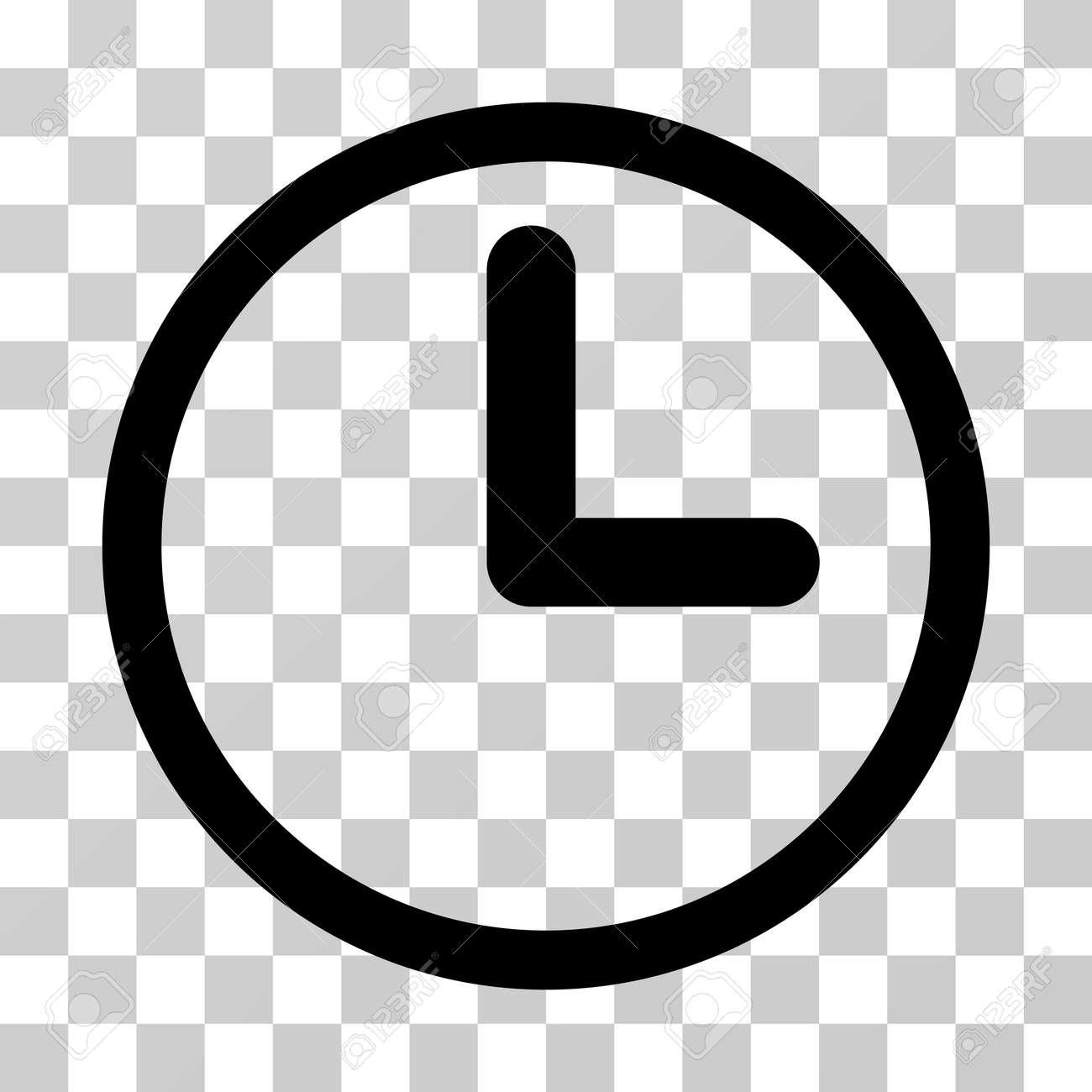 clock icon vector illustration style is flat iconic symbol rh 123rf com time clock icon vector clock icon vector free