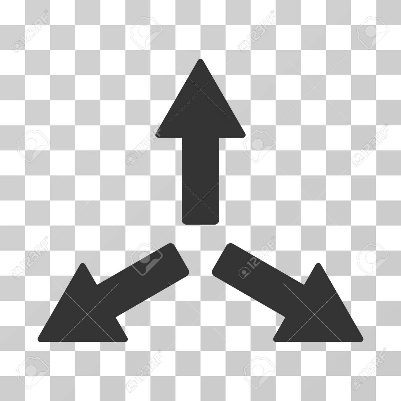 Expand Arrows icon  Vector illustration style is flat iconic