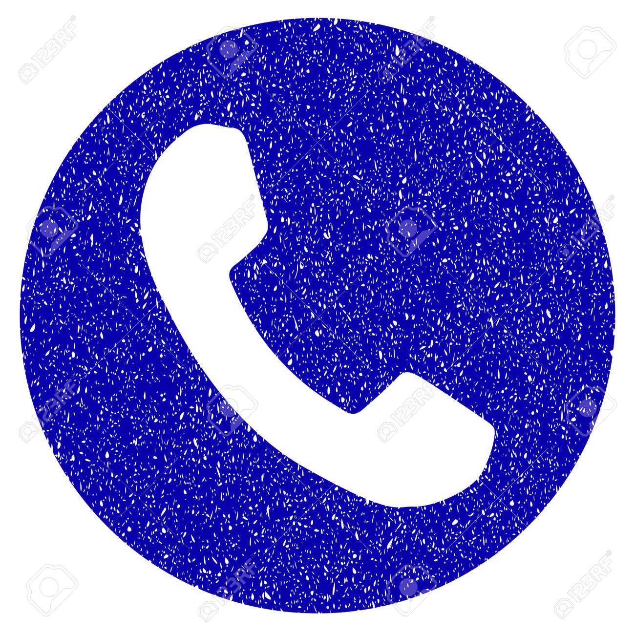Grunge Phone Number Rubber Seal Stamp Watermark Icon Symbol