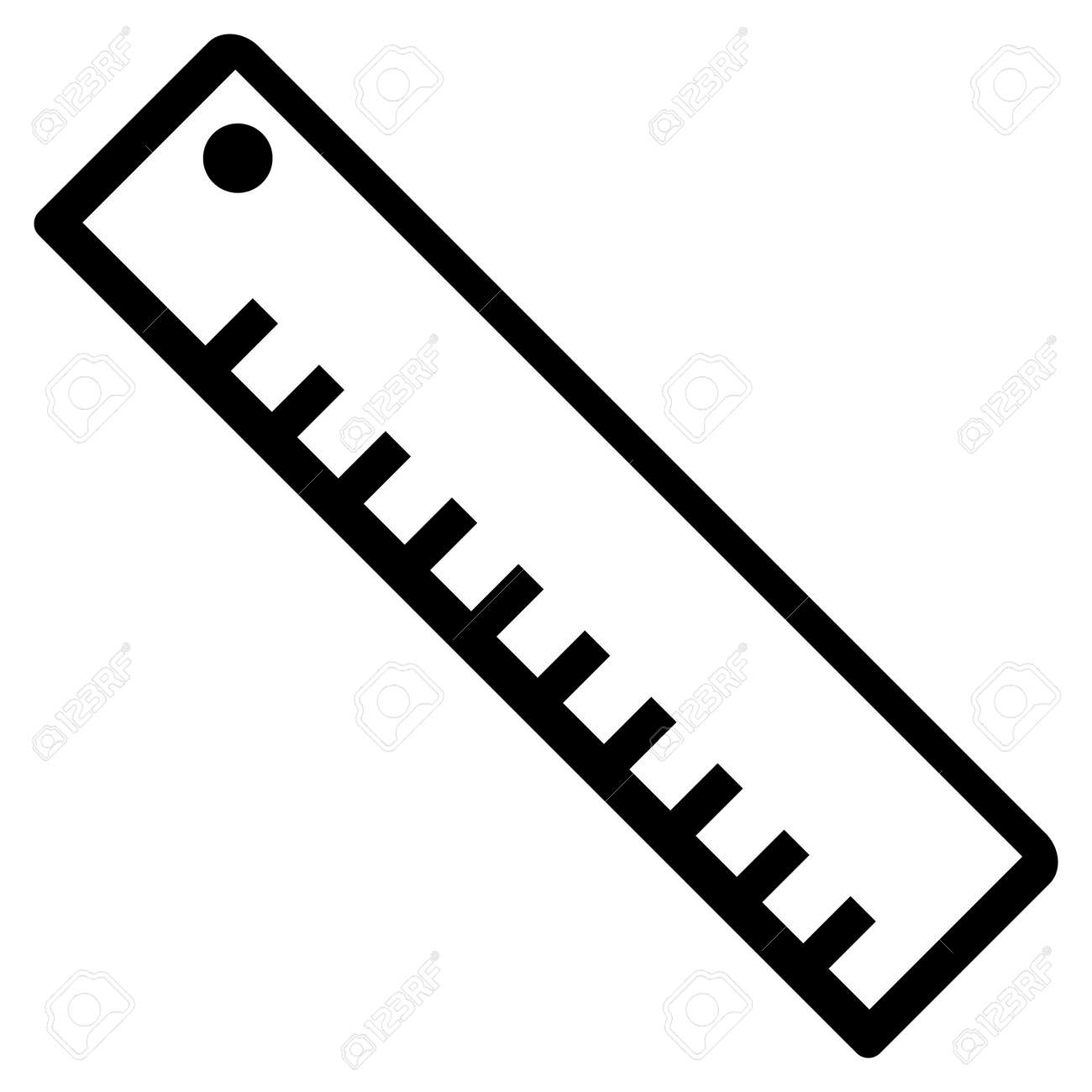 length ruler vector icon royalty free cliparts vectors and stock rh 123rf com ruler vector free ruler vector art
