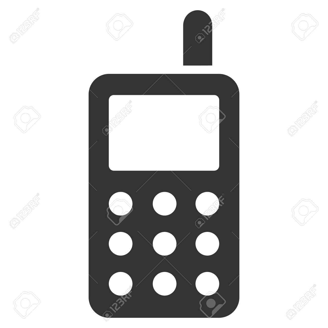 cell phone vector icon flat gray symbol pictogram is isolated rh 123rf com cell phone vector free cell phone vector logo