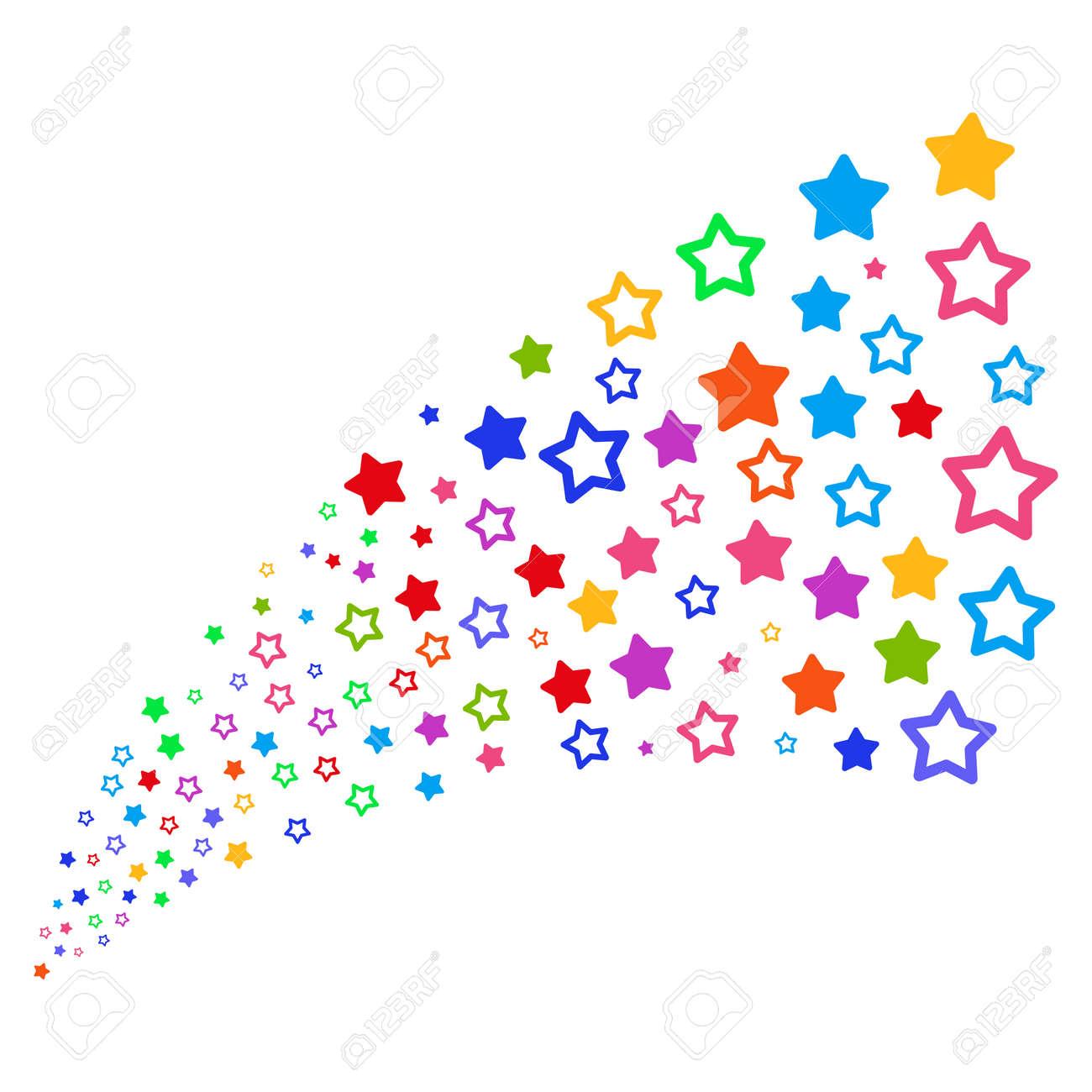 Source Of Decoration Stars Symbols Vector Illustration Style