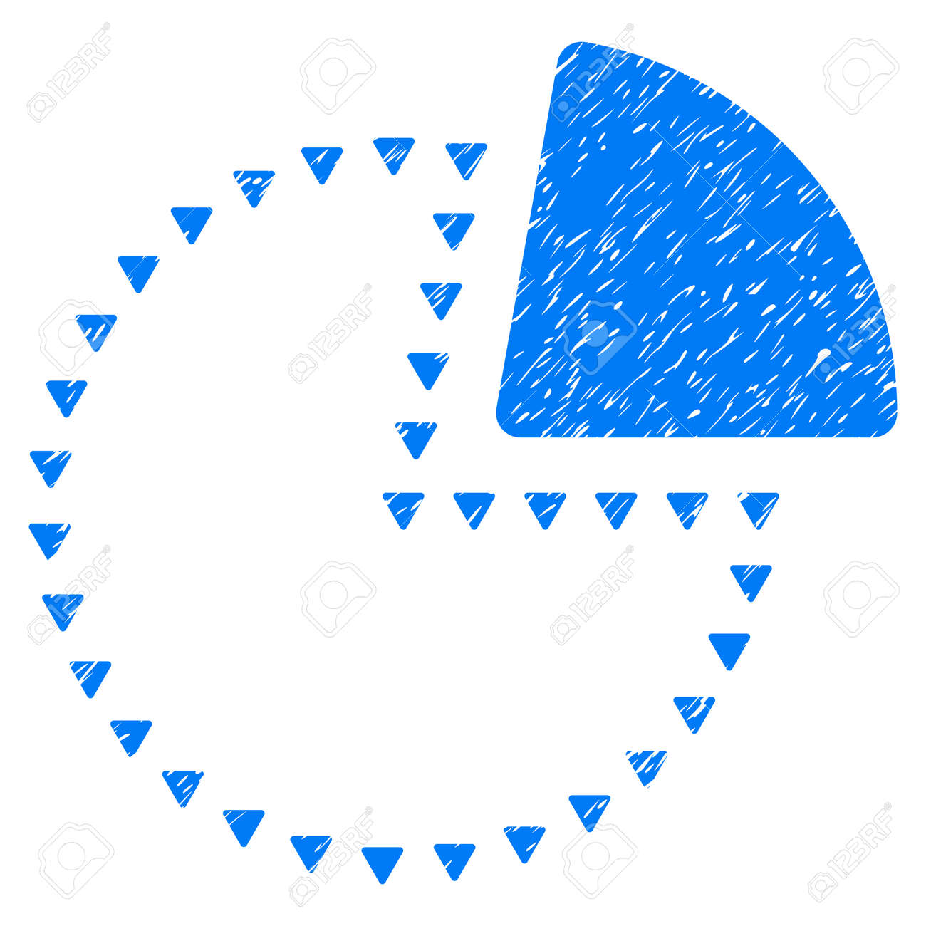 Grunge dotted pie chart icon with grunge design and unclean grunge dotted pie chart icon with grunge design and unclean texture unclean raster blue pictogram nvjuhfo Choice Image