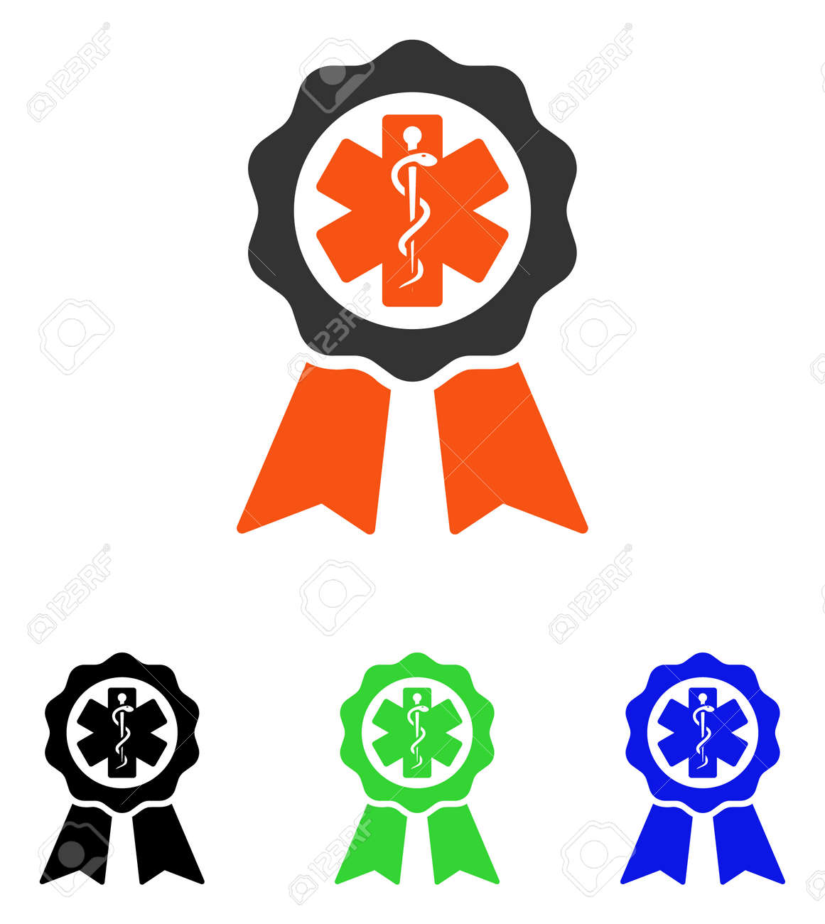 medical seal vector pictogram illustration style is a flat iconic rh 123rf com Texas State Seal California State Seal Clip Art