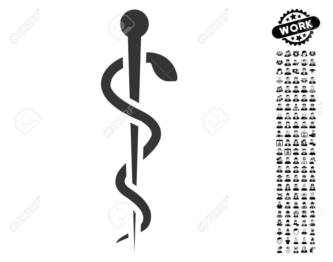 Medical Needle Icon With Black Bonus Job Symbols Medical Needle