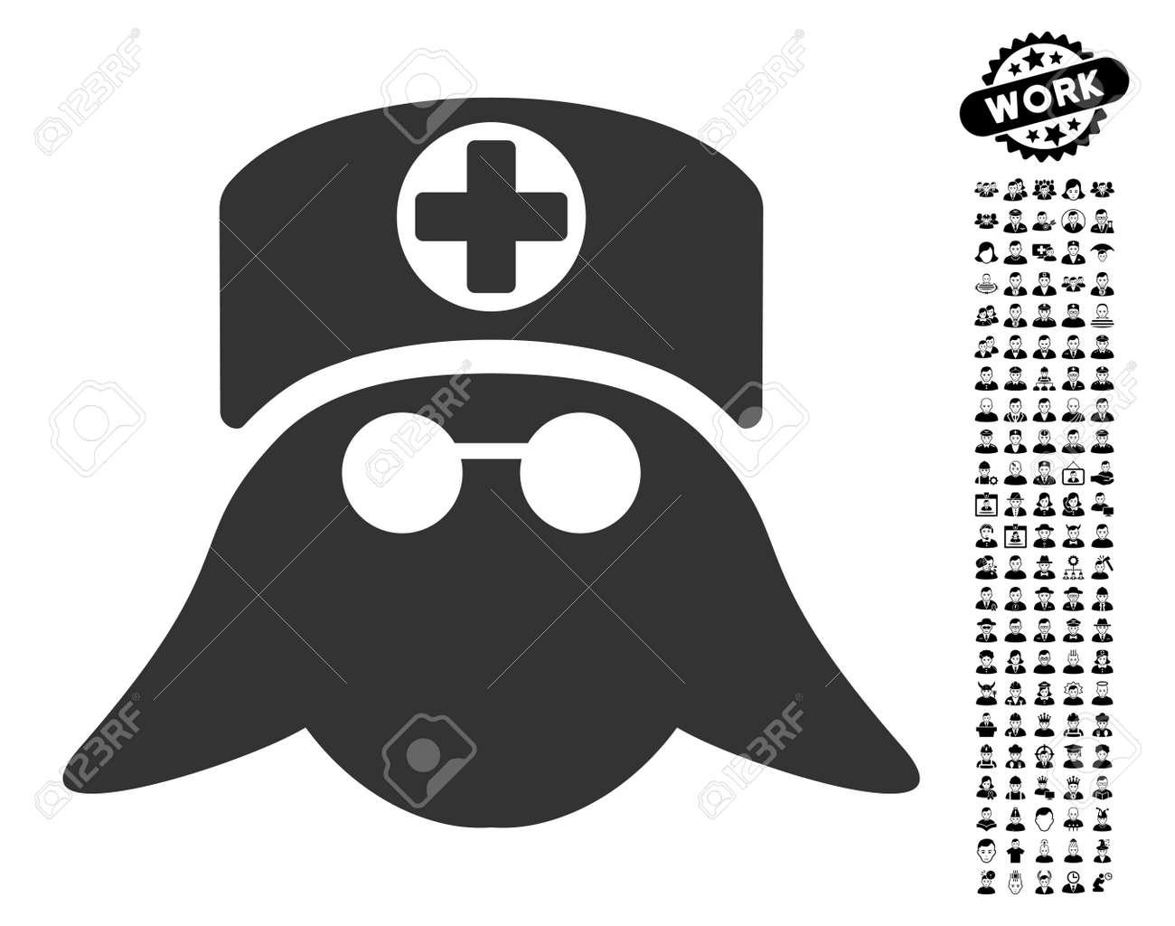 Nurse head icon with black bonus professional symbols nurse nurse head icon with black bonus professional symbols nurse head vector illustration style is a biocorpaavc