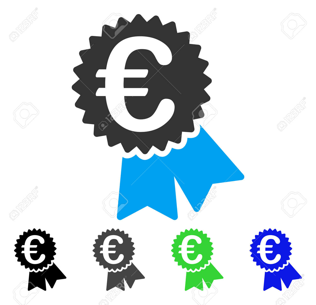 Euro featured price tag flat vector icon colored euro featured euro featured price tag flat vector icon colored euro featured price tag gray black biocorpaavc