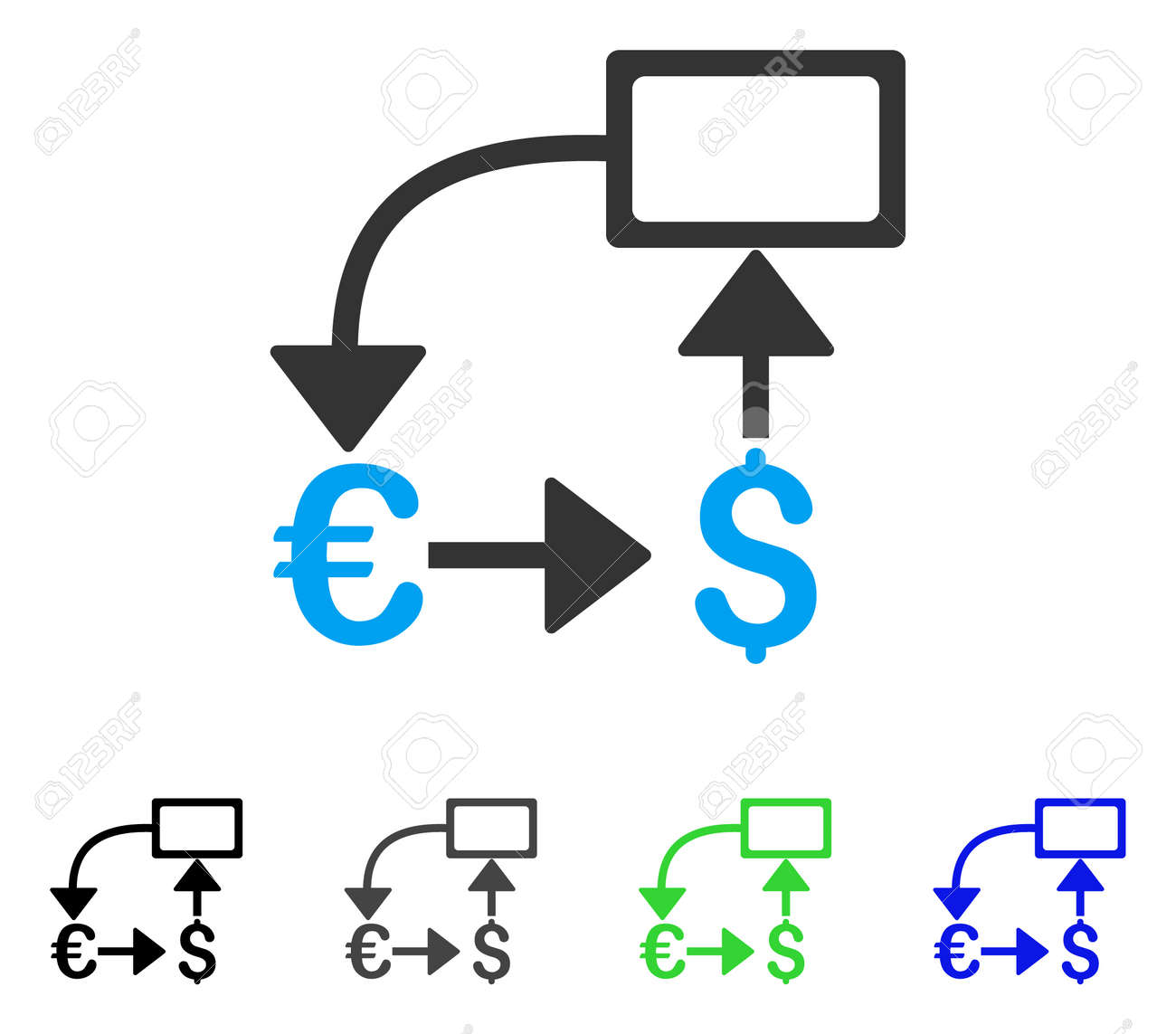 Euro dollar flow chart flat vector pictogram colored euro dollar euro dollar flow chart flat vector pictogram colored euro dollar flow chart gray black geenschuldenfo Image collections