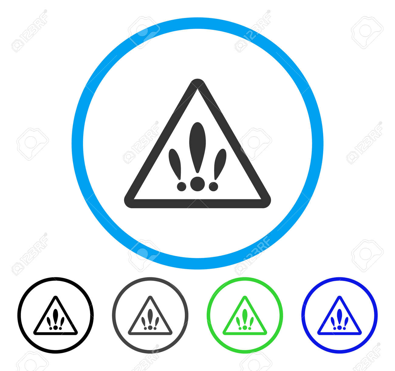Multiple problems rounded icon vector illustration style is vector illustration style is a flat iconic symbol inside a circle buycottarizona Image collections