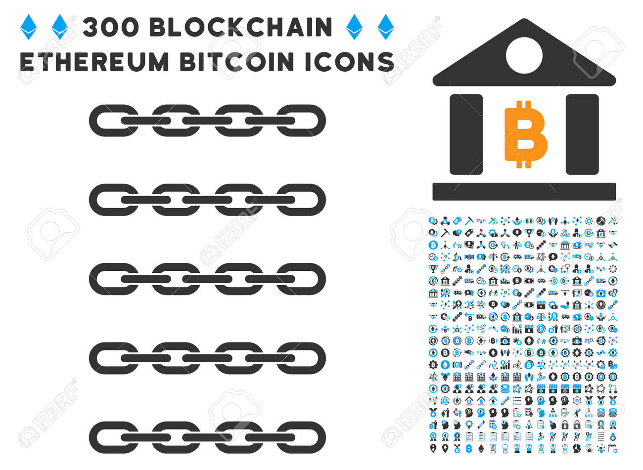 Blockchain list icon with 300 blockchain cryptocurrency ethereum blockchain list icon with 300 blockchain cryptocurrency ethereum smart contract symbols vector biocorpaavc Image collections