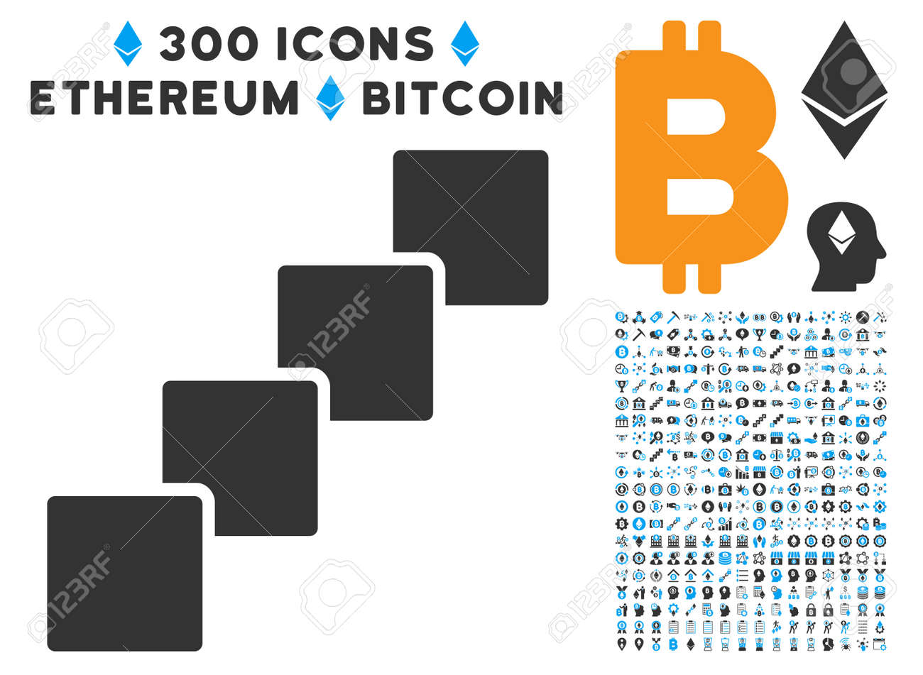 Blockchain pictograph with 300 blockchain cryptocurrency blockchain pictograph with 300 blockchain cryptocurrency ethereum smart contract symbols vector pictograph biocorpaavc