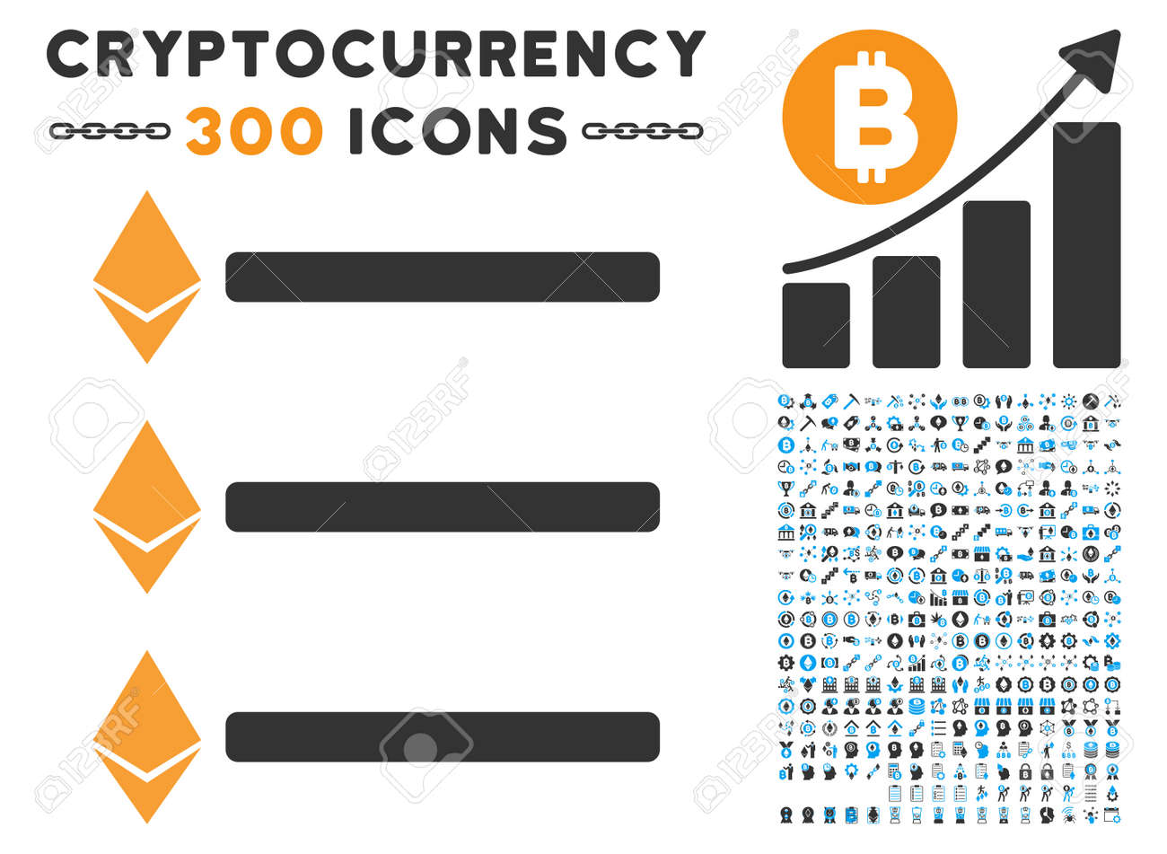 Ethereum list icon with 300 blockchain cryptocurrency ethereum ethereum list icon with 300 blockchain cryptocurrency ethereum smart contract symbols vector biocorpaavc Image collections