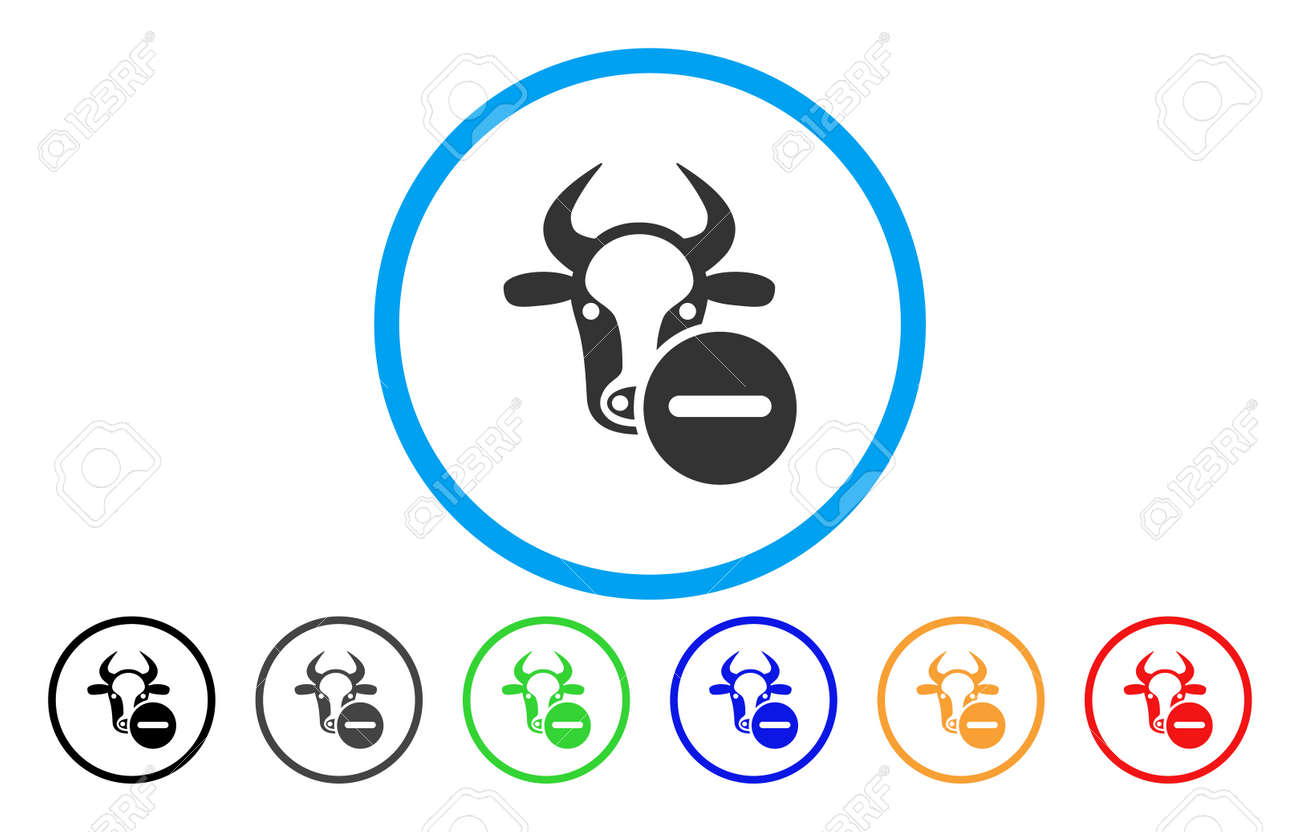 Cow remove vector rounded icon image style is a flat gray icon cow remove vector rounded icon image style is a flat gray icon symbol inside a buycottarizona