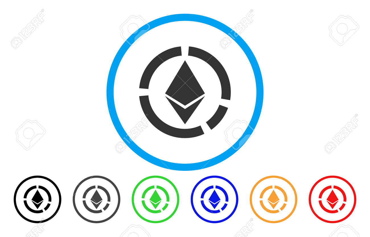 Ethereum circle diagram flat vector pictogram for application ethereum circle diagram flat vector pictogram for application and web design stock vector 84857090 ccuart Image collections
