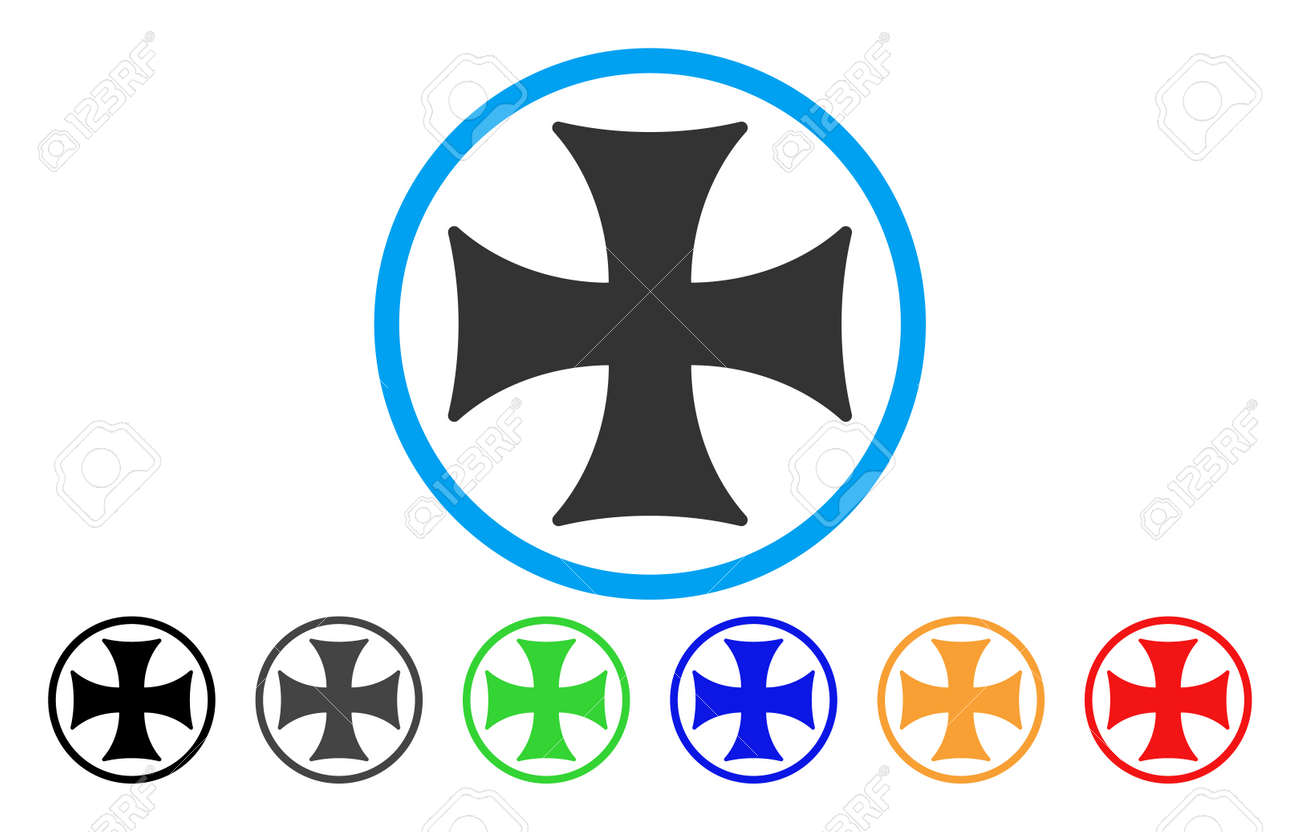 Maltese cross vector rounded icon image style is a flat gray maltese cross vector rounded icon image style is a flat gray icon symbol inside a biocorpaavc
