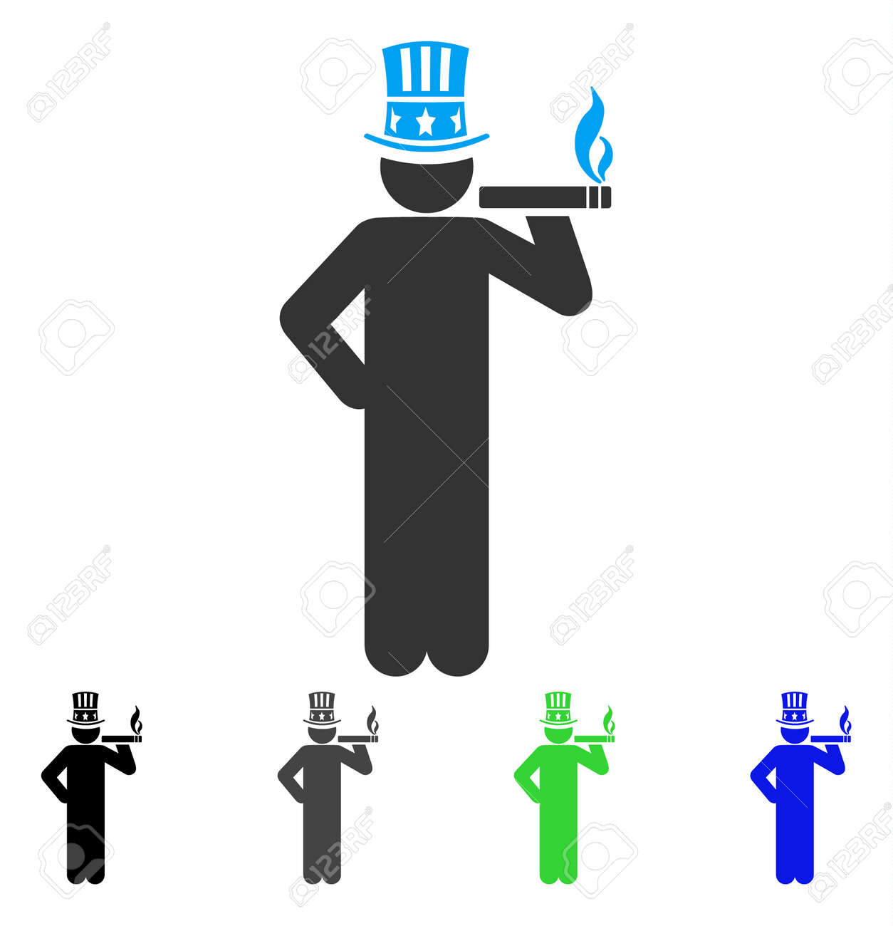 American capitalist vector pictogram style is a flat graphic american capitalist vector pictogram style is a flat graphic symbol in black grey biocorpaavc