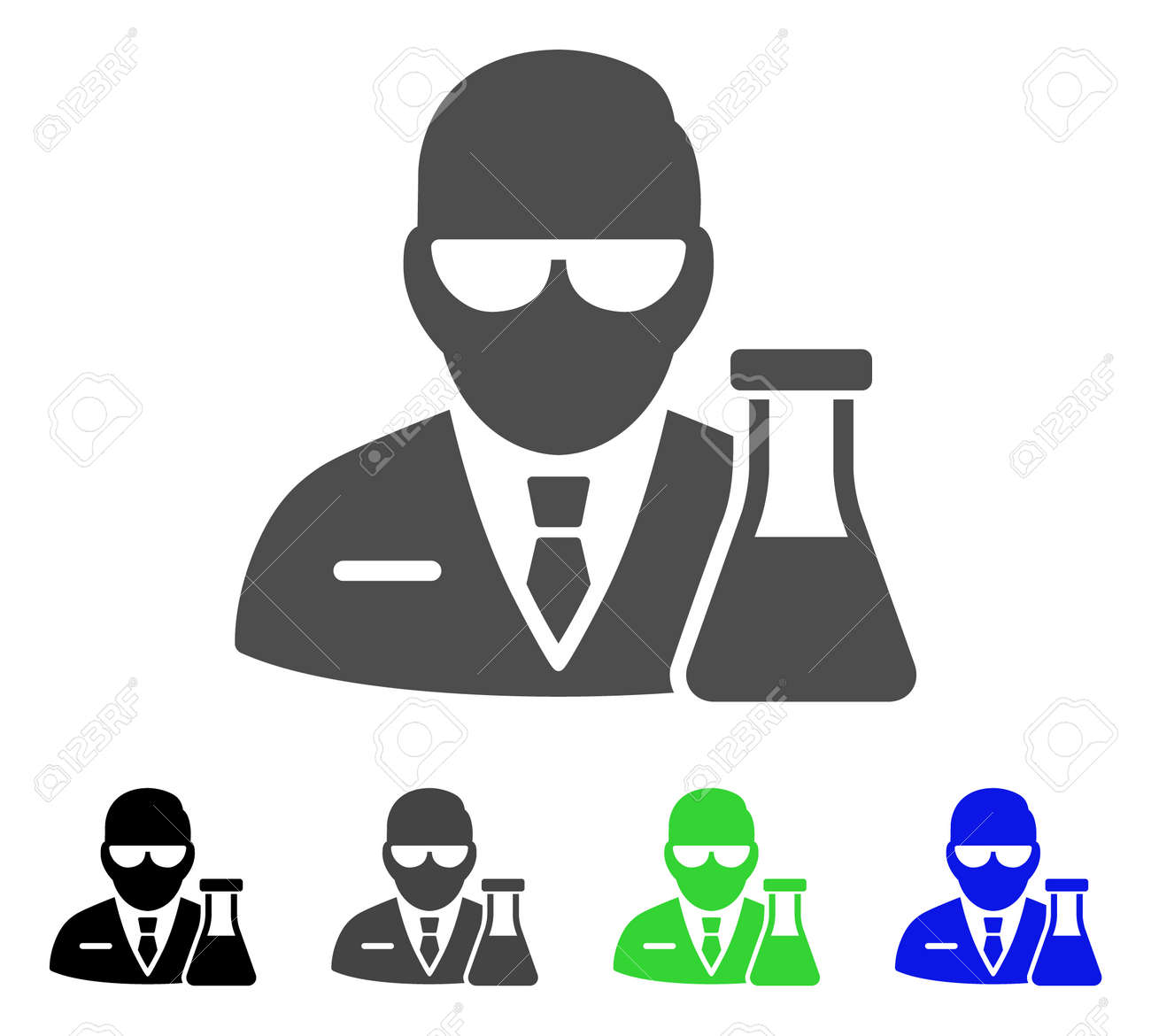 chemical scientist vector icon style is a flat graphic symbol royalty free cliparts vectors and stock illustration image 85050550 123rf com