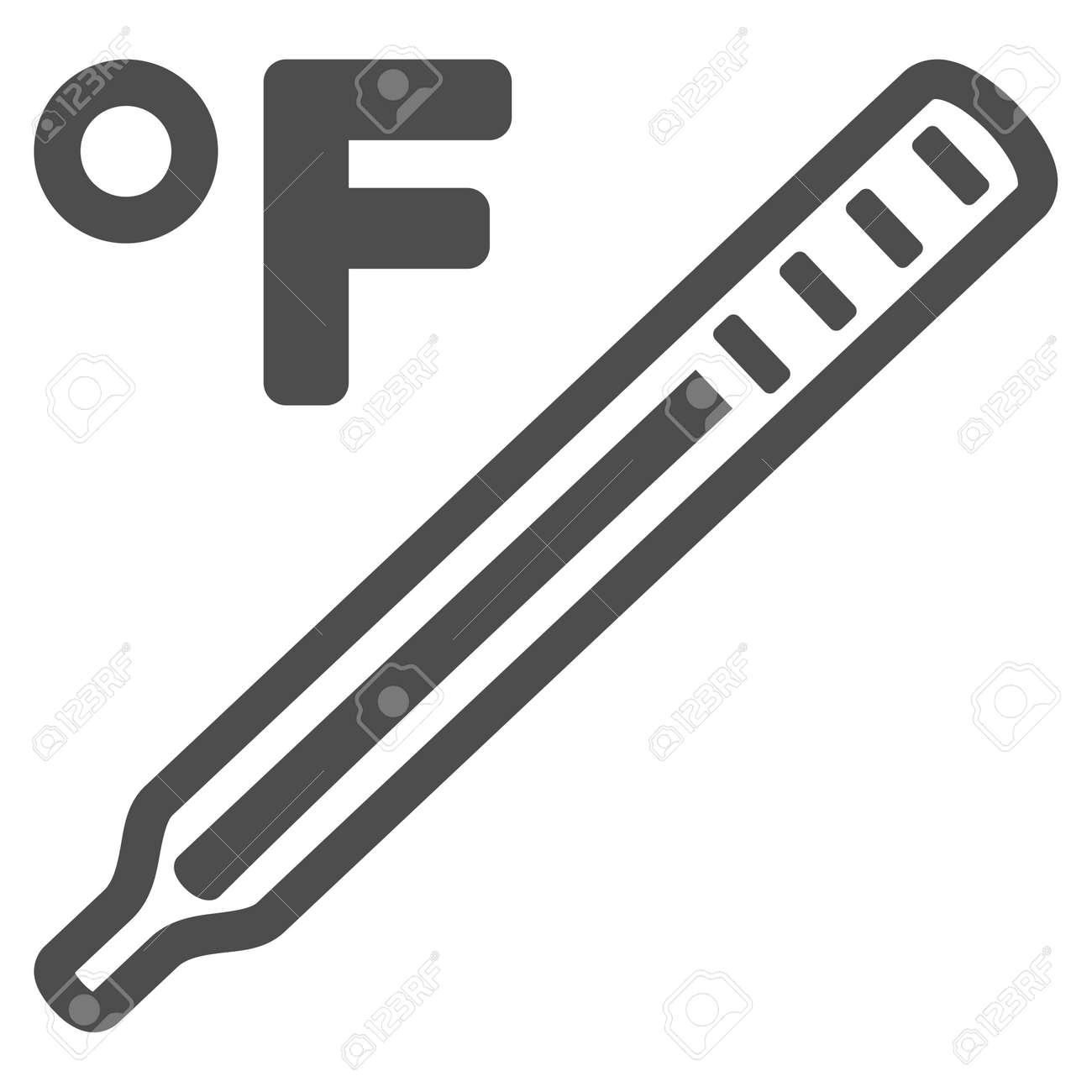 Fahrenheit medical thermometer raster pictogram style is flat fahrenheit medical thermometer raster pictogram style is flat graphic grey symbol stock photo biocorpaavc Choice Image