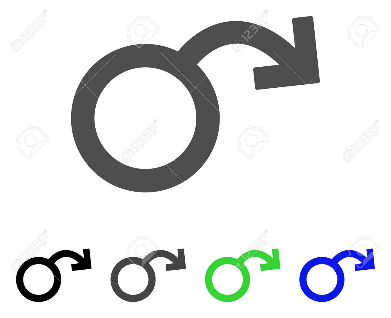 Nero sesso simboli