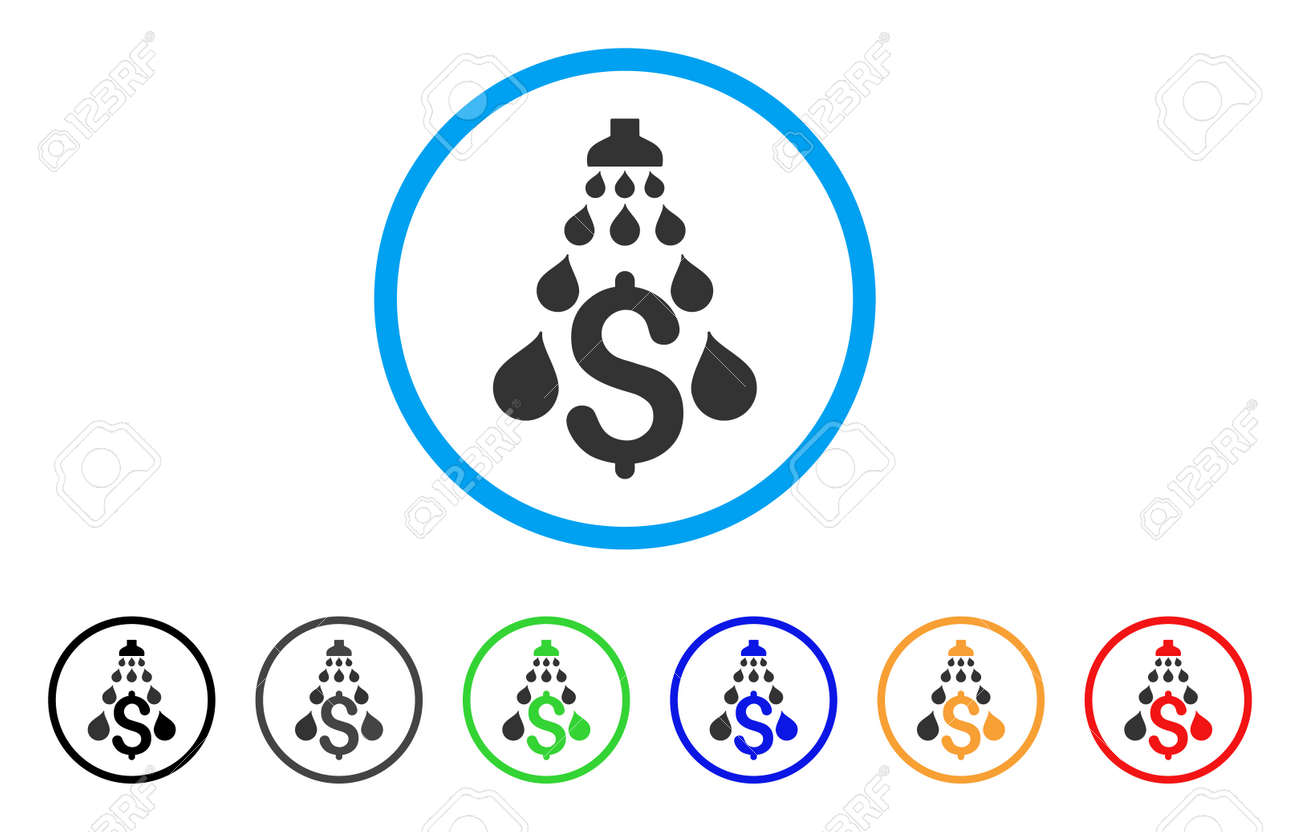 Money laundering rounded icon style is a flat money laundering money laundering rounded icon style is a flat money laundering grey symbol inside light blue buycottarizona Images