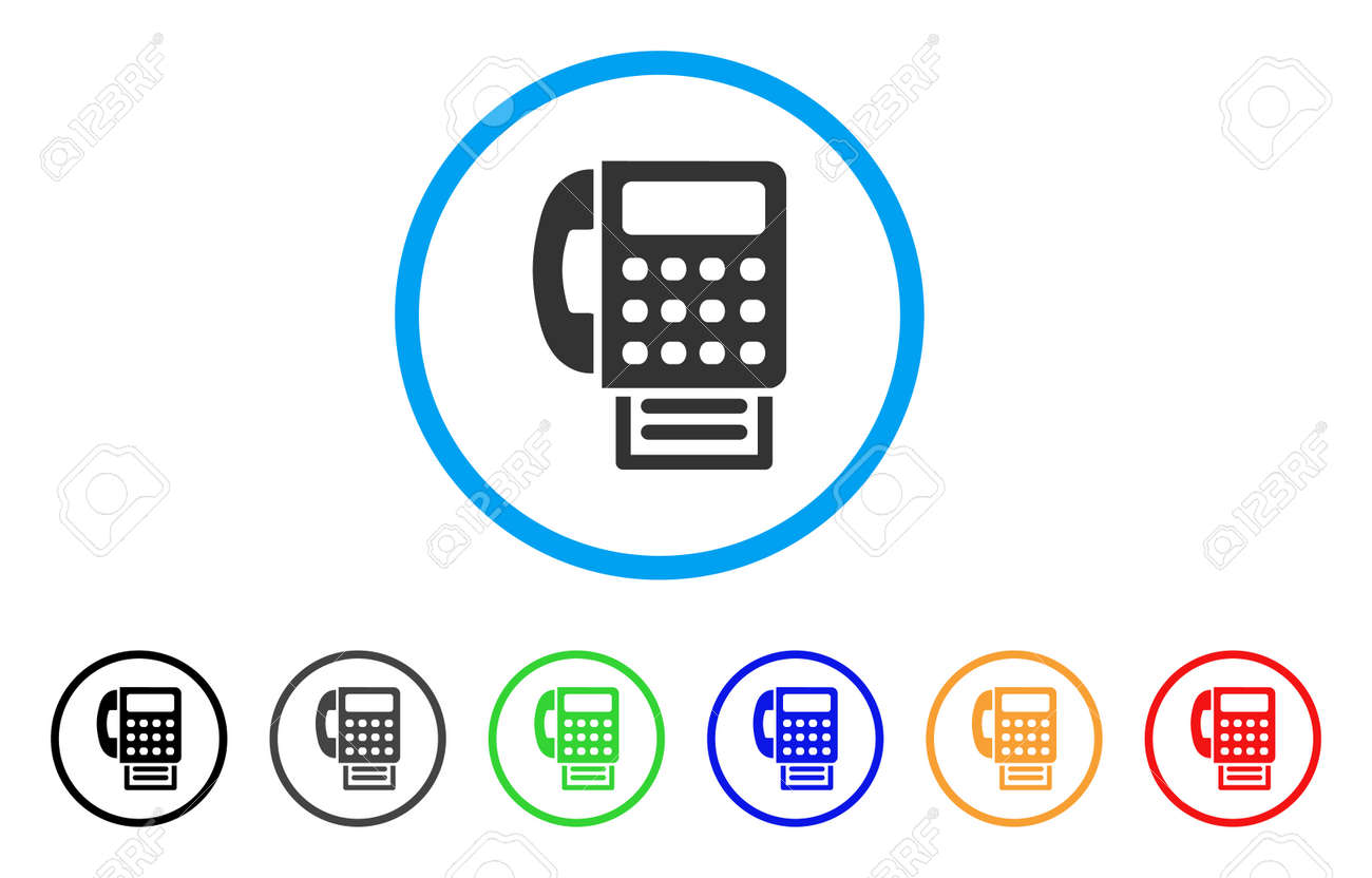 fax machine rounded icon style is a flat fax machine gray symbol royalty free cliparts vectors and stock illustration image 86480317 fax machine rounded icon style is a flat fax machine gray symbol
