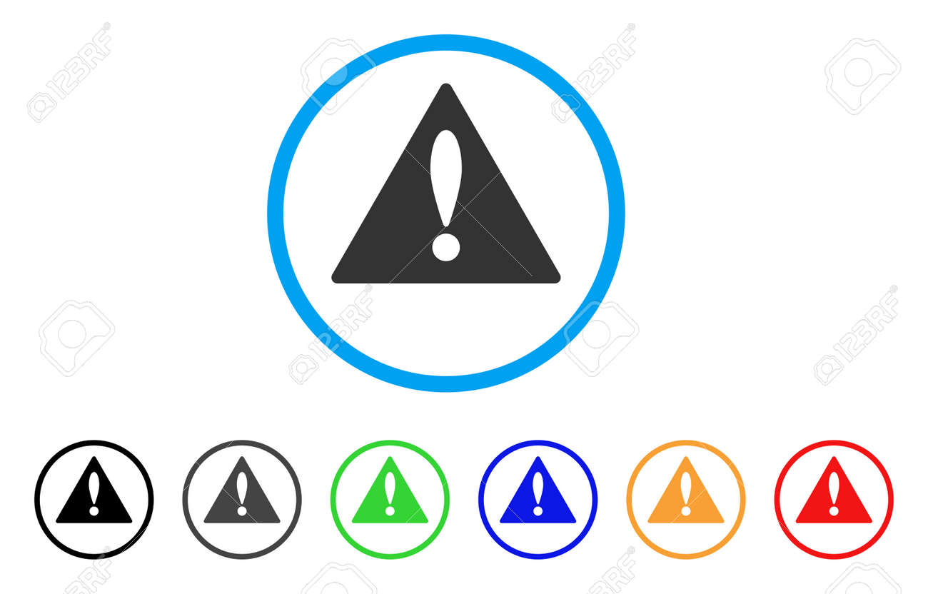 Warning rounded icon style is a flat warning grey symbol inside style is a flat warning grey symbol inside light blue circle with buycottarizona Image collections