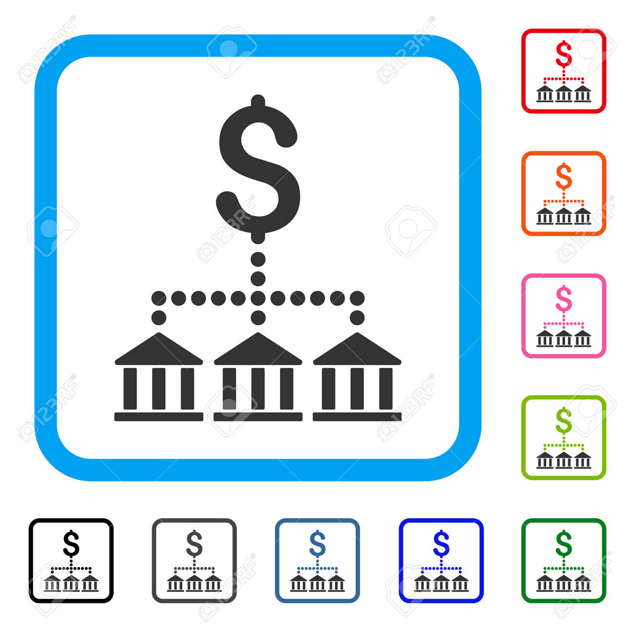Bank scheme icon flat gray iconic symbol in a light blue rounded bank scheme icon flat gray iconic symbol in a light blue rounded square black biocorpaavc Gallery