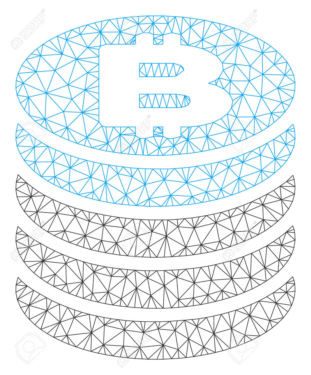 Mesh network coin