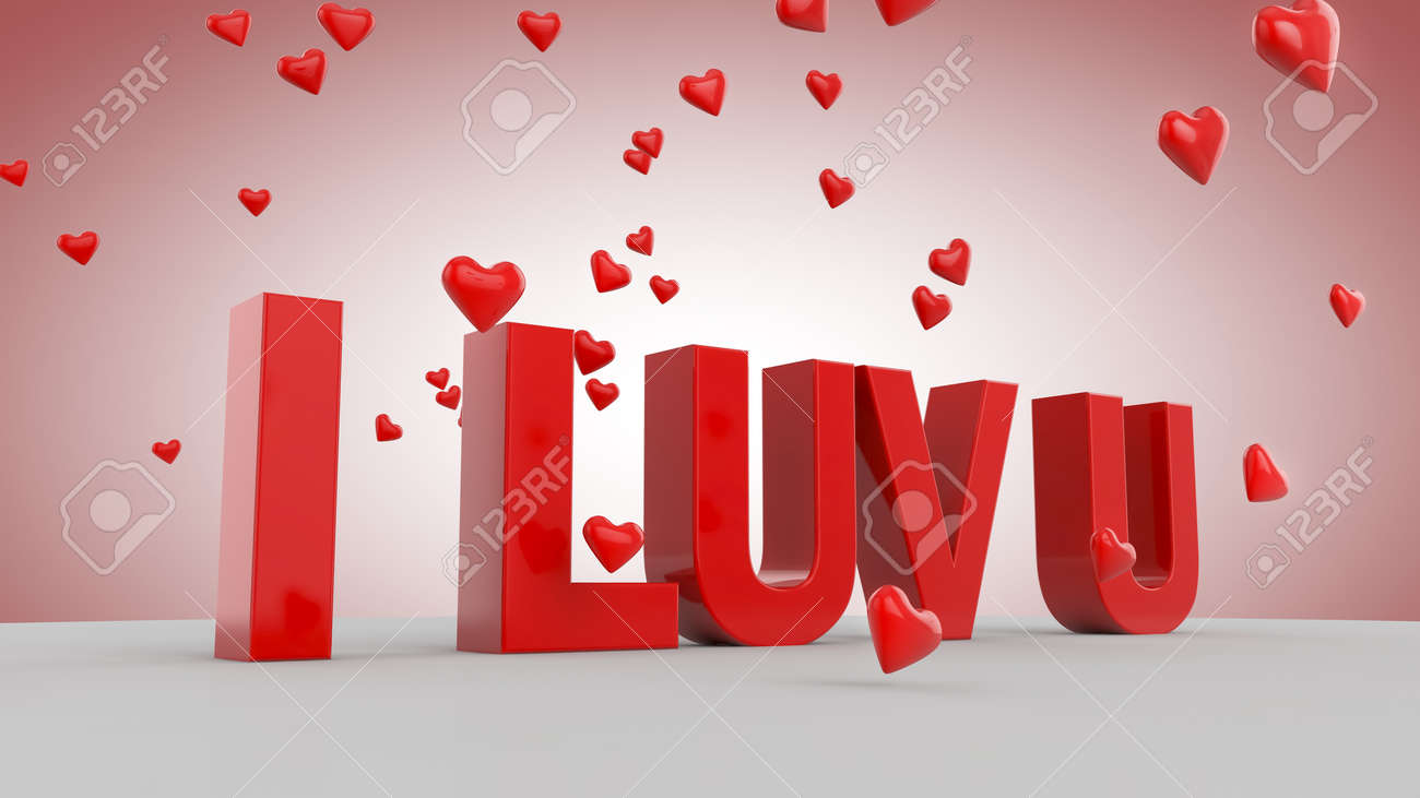 I Luv U Stock Photo Picture And Royalty Free Image Image 11614375