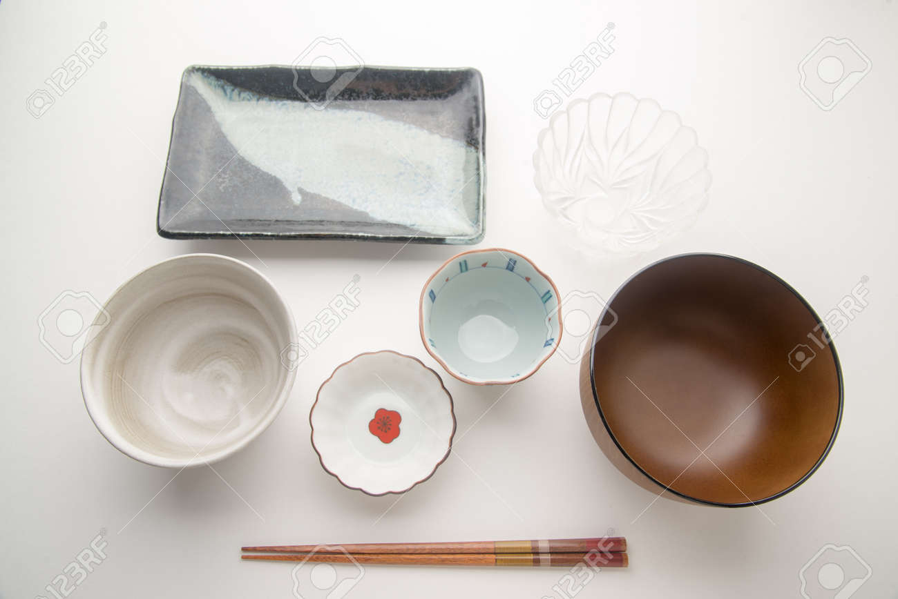 japanese table set Stock Photo - 58444908 & Japanese Table Set Stock Photo Picture And Royalty Free Image ...