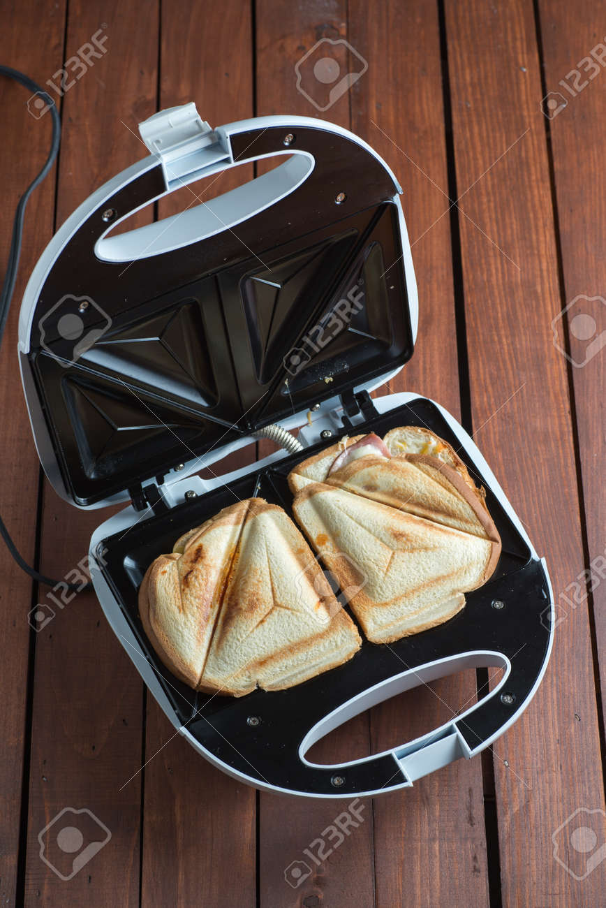 Grilled Sandwich Maker Stock Photo Picture And Royalty Free Image Image 63884339
