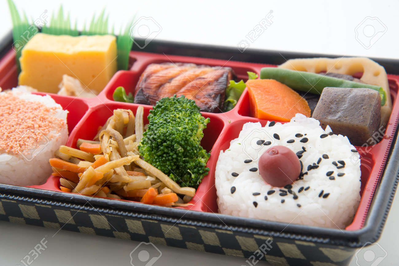 Shoukadou Style Japanese Traditional Bento Stock Photo Picture And