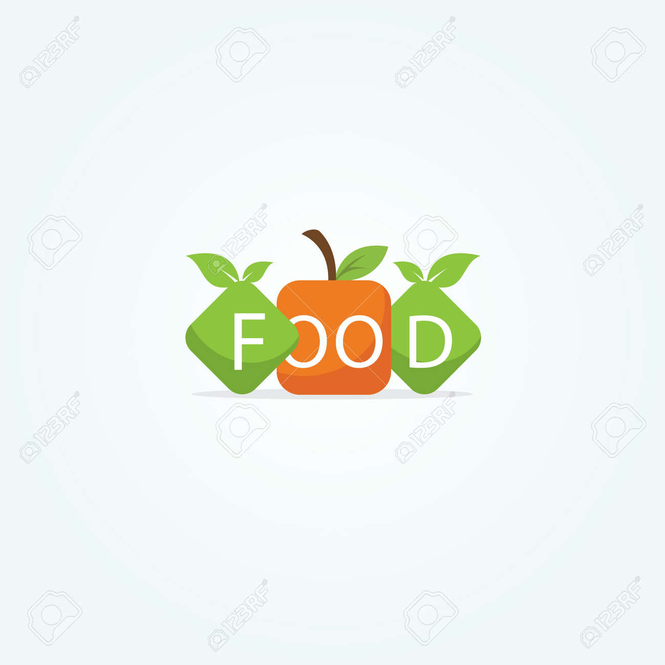 Restaurant Logo Design Healthy Food Lover Vector Icon Royalty Free Cliparts Vectors And Stock Illustration Image 103117827
