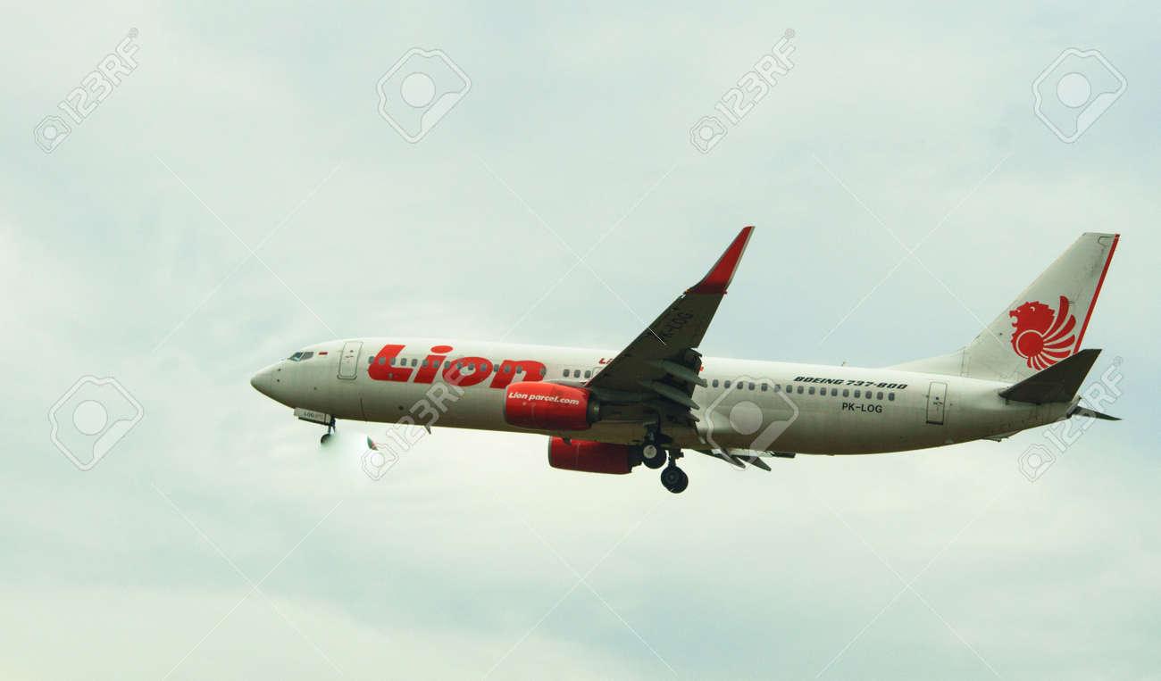 Lion Air Plane Crashes off Indonesia
