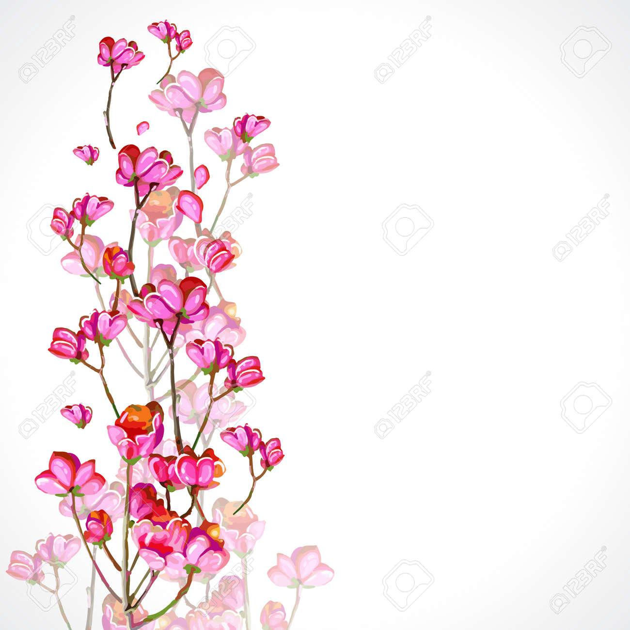 Magnificent Creative Flowers White Plains Vignette Images For