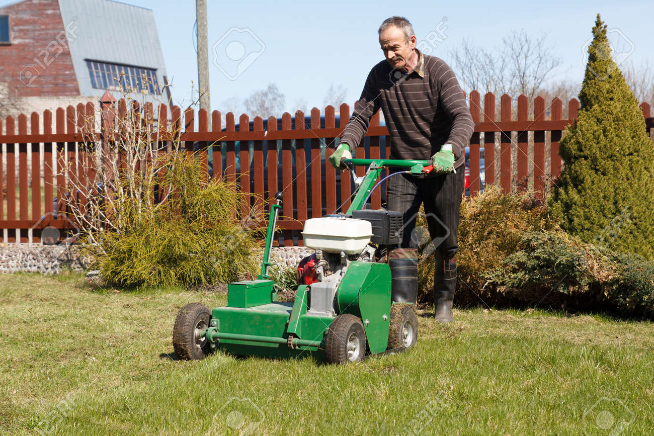 Lawn AeratorA Lawn Aerator Is A Garden Tool Or Machine Designed