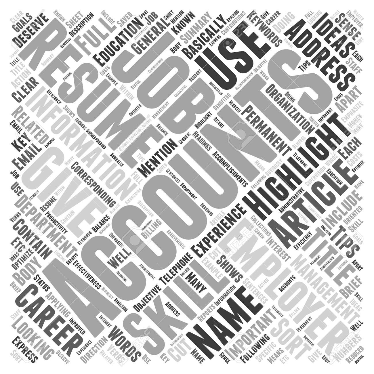ef68e808390013 Banque d images - Les conseils de reprise de comptable pour vous obtenir le  travail que vous méritez