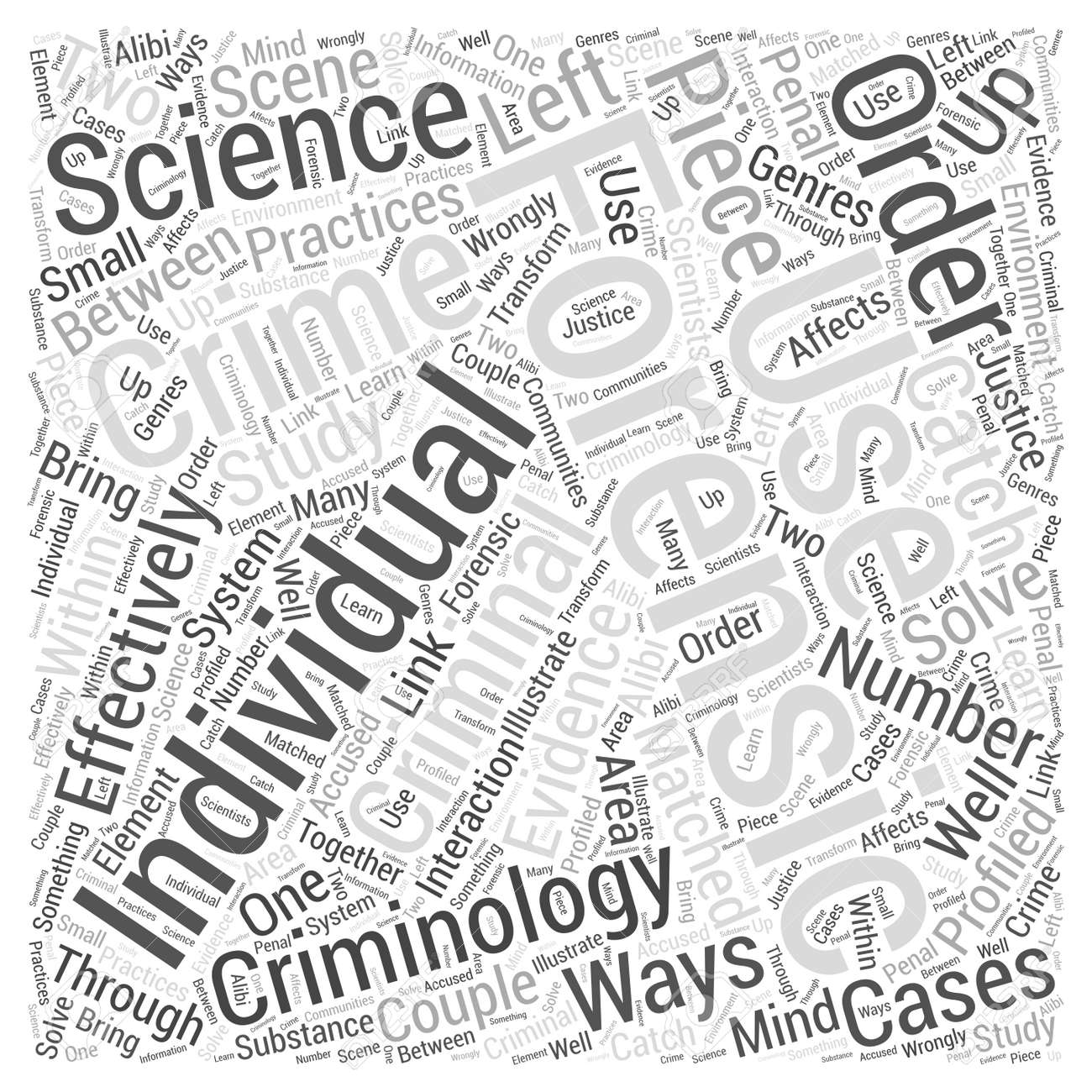 Criminology And Forensic Science Word Cloud Concept Royalty Free Cliparts Vectors And Stock Illustration Image 67215141