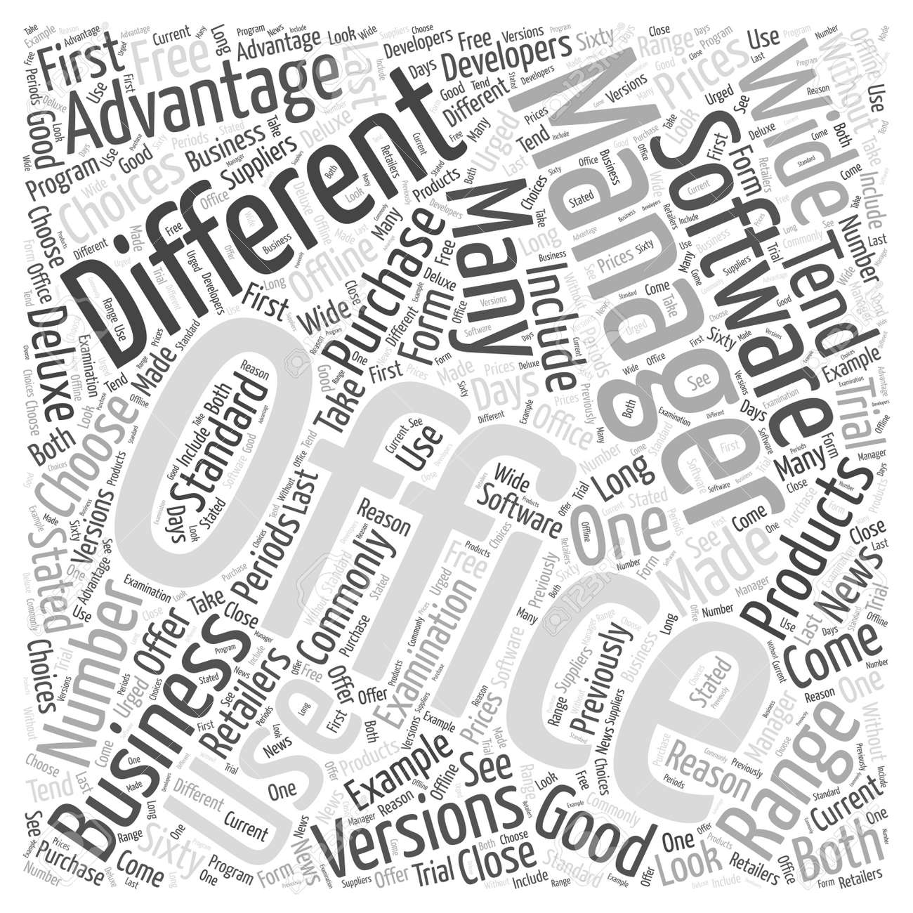 Should Your Business Use Office Management Software word cloud