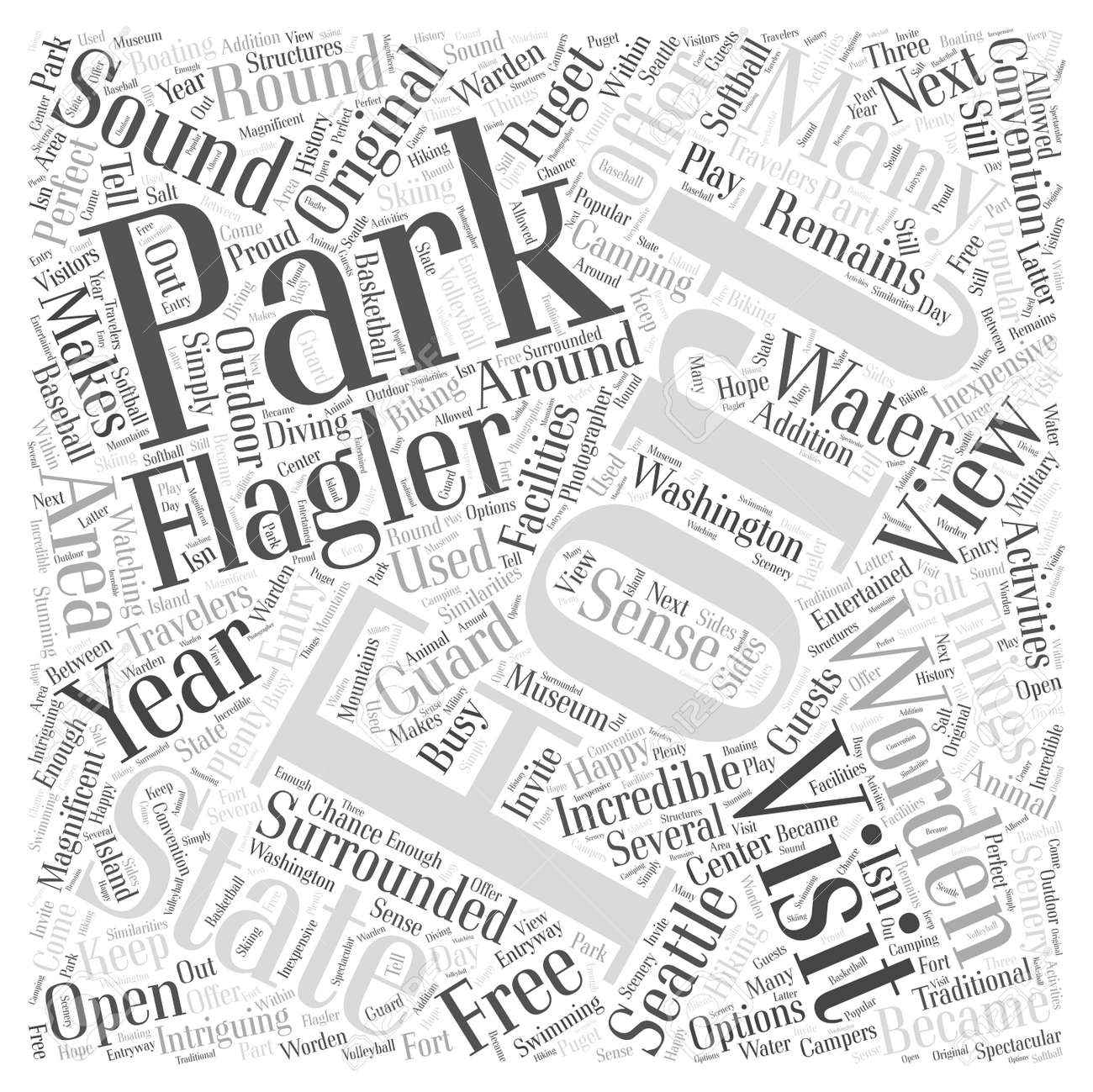state parks offer intriguing options for travelers word cloud
